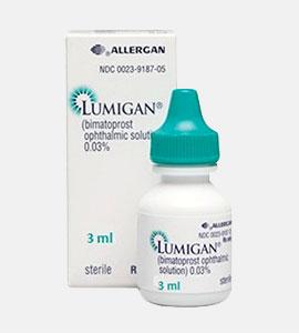 Lumigan (Bimatoprost) 0.03 %